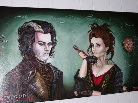Painting Sweeny Todd 1