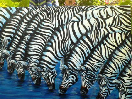Painting Zebras